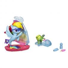 Игровой набор Радуга Дэш Подводный спорт Моя Маленькая Пони - My Little Pony Rainbow Dash Undersea sports Hasbro