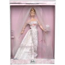 Коллекционная Свадебная Кукла Барби Утонченная Невеста в пышном платье 2002 года - Barbie Sophisticated Wedding