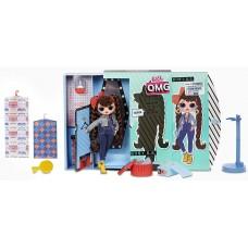 Игровой набор Большая Кукла ЛОЛ ОМГ Бизи Б.Б. с 20 сюрпризами -  L.O.L. Surprise! O.M.G. Busy B.B. Fashion Doll