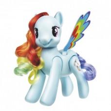 Интерактивная пони Радуга Дэш с расческой Моя маленькая пони, 18 см - My Little Pony Flip & Whirl Rainbow Dash