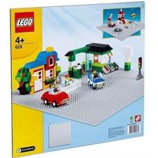 LEGO CREATOR 628 X-Large Baseplate Grey Большая строительная пластина 38см x 38см