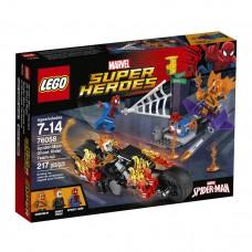 LEGO Super Heroes 76058 Spider-Man: Ghost Rider Team-Up Человек-Паук и Призрачный Гонщик