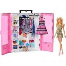 Игровой набор для девочек Шкаф-чемодан с куклой Барби - Barbie Fashionistas Ultimate Closet Doll and Accessories