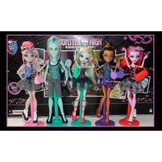 Большой Игровой Набор для девочек из 5-ти кукол Класс Танцев Монстер Хай Monster high Dance Class от Mattel