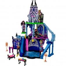 Детский Игровой Набор Замок 3-х этажный Монстер Хай с мебелью Monster High Playset Freaky Fusion Catacombs