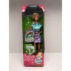 Коллекционная Кукла Барби Пасхальный Сюрприз Блондинка в коротком платье Barbie Easter Surprise Doll 1998 года