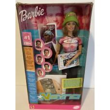 Коллекционная Кукла Барби Меломан Эксклюзивная серия Шарнирная в розовом с музыкой NSYNC Barbie Doll 2000 год