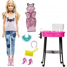 Кукла Барби Стиль Блондинка с двумя разными одежками и волосами Barbie Day to Night Style Color Change Hair