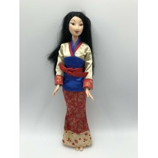 Коллекционная Кукла Мулан в стильном платье-кимоно Дисней 2004 год - Disney Princess Blossom Beauty Mulan Doll
