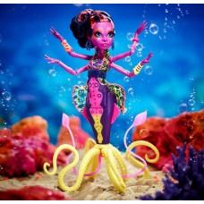 Кукла Монстер Хай Большой Скарьерный Риф Кала Мерри Фиолетовая Monster High Kala Mer`ri Great Scarrier Reef