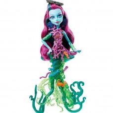 Кукла Монстер Хай Большой Скарьерный Риф Поси Риф Зеленая светится Monster High Posea Reef Great Scarrier Reef