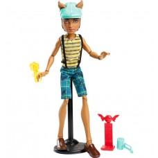 Кукла Монстер Хай Клод Вульф Карнавал Мальчик в шлеме с аксессуарами Monster High Scarnival Clawd Wolf Doll