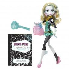 Кукла Монстер Хай Лагуна Блу Выпускники Редкая серия с сумочкой Monster High Lagoona Blue Schools Out 27 см