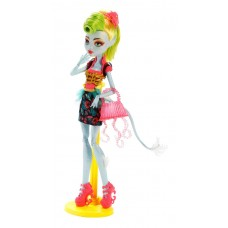 Кукла Монстер Хай Лагунафаер Слияние Монстров Безумный Микс с сумкой Monster High Lagoonafire Freaky Fusion