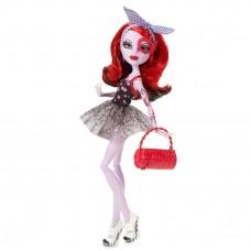 Кукла Монстер Хай Оперетта Танцкласс красно-черные волосы с сумочкой Monster High Operetta Dance Class Doll
