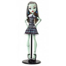 "Кукла Монстер Хай Френки Штейн 42см Большая в клетчатом платье Monster High 17""Large Doll Frankie Stein Doll"