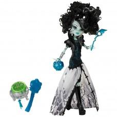 Кукла Монстер Хай Френки Штейн Маскарад с котлом и аксессуарами Monster High Frankie Stein Ghouls Rule 27см