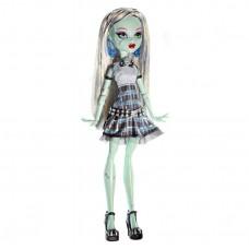 Кукла Монстер Хай Френки Штейн Она Живая! светящиеся в юбке Monster High Frankie Stein Ghouls Alive! Doll 27см