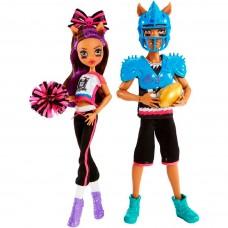 Кукольный набор Монстер Хай Клод и Клодин Вульф Спортивные победы - 2-pack Monster High Winning Werewolves Dolls
