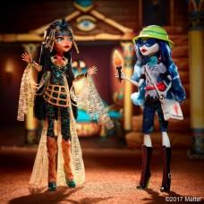 Набор из 2-х Кукол Монстер Хай Клео и Гулия Комик Кон Monster High Cleo De Nile and Ghoulia Yelps 2017 года