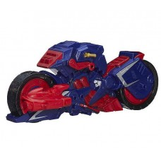 Мотоцикл Капитана Америка из серии разборных супергероев Мстители Машерс - Captain America Motorcycle, Mashers