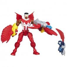 Разборная фигурка супергероя Сокол Марвел со съемными частями тела - Marvel's Falcon, Mashers, Marvel, Hasbro