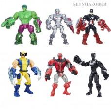 Набор разборных фигурок супергероев 6 в 1 - Super Hero Mashers, Hasbro