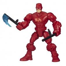 Разборная фигурка супергероя Сорвиголова со съемными частями тела, 16 см - Daredevil, Marvel, Mashers, Hasbro