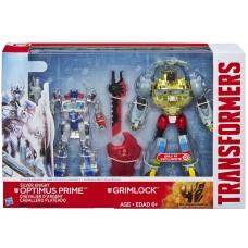 Эксклюзивный набор Оптимус Прайм и Гримлок - Autobot SK Optimus Prime and Dinobot Grimlock, Hasbro