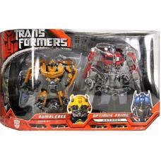 !Набор 2в1 Бамблби (Делюкс) + Оптимус (Вояджер) - Bumblebee&Optimus Prime, TF1, Automorph, Hasbro