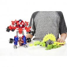 Констракт боты Оптимус Прайм и динобот Гноу - Optimus&Gnaw, TF4, Construct bots, Hasbro