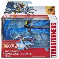 "Бамблби и динобот Стрейф ""Трансформеры 4"" - Bumblebee&Strafe, Dino Sparklers, TF4, Hasbro"