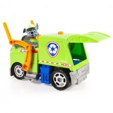 Игровой набор Щенячий Патруль: Рокки и перерабатывающий мусоровоз - Rocky Light & Sound Paw Patrol, Spin Master