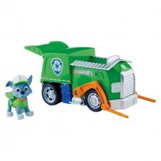 Игровой набор Щенячий Патруль: Рокки и мусоровоз, открывающийся контейнер - Roсky's Recycling Truck, Spin Master