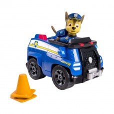 Игровой набор Щенячий Патруль: Гонщик Чейз и полицейская машина, 14 см - Chase's Cruiser Paw Patrol, Spin Master