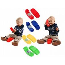 Телефон с кнопками для детей Аксессуар для открытых уличных площадок и дома, пластиковый, цветной 21х10х9 см