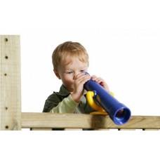 Телескоп для детей без объектива Аксессуар для открытых уличных площадок, дома и дачи, пластиковый 30х10х50 см