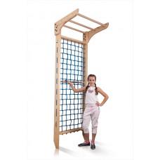 Гладиаторская сетка для дома, спортивный детский комплекс-уголок, турник  240х80 см K7-240 47916-19 ks-Kinder 7- 240