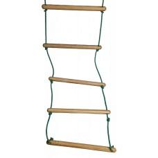 Подвесная Веревочная Лестница для детей для домашнего Спортивного уголка, максимальная нагрузка 80 кг H=210 см
