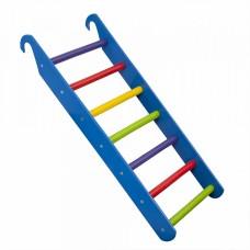 Лестница для игрового комплекса или домашнего спортивного уголка для детей, приставная, разноцветная, H=64 см
