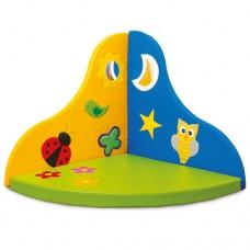 Детский игровой Сенсорный уголок День и Ночь для занятий с детьми от 1 года дома, в детских садах 140х140х8 см