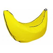 Бескаркасное Кресло-мешок Банан со съемным чехлом и ручкой для переноски, пенополистирол 140х110х78 см