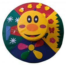 Игровой дидактический модуль для детей с аппликациями и заданиями для детского сада, квартиры 4 сезона
