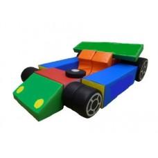 Мягкий Игровой модуль-трансформер Гонка для детей от 1 года для дома, игровых центров, детсадов, 16 элементов