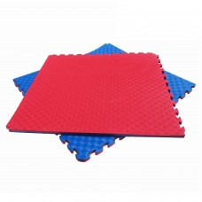 Мат Татами Ласточкин хвост - мягкое покрытие-пазл для спортивных залов площадок, до 100 кг, из EVA 100х100х2.5 см