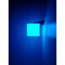 Световое решение для сенсорной комнаты: Настенный светильник Куб с RGB подсветкой и пультом управления 20х20см