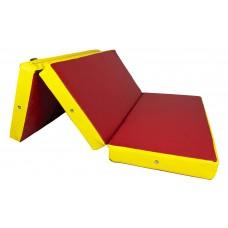 Гимнастический Складной Мат для спортивных залов или домашних тренировок со съемным чехлом 150х100х10 см
