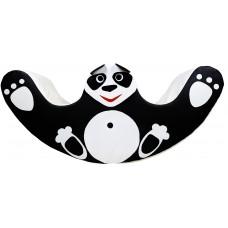Детская Мягкая игровая Качалка Панда для одного-двух детей для дома, игровых центров, детсадов 120х30х55 см