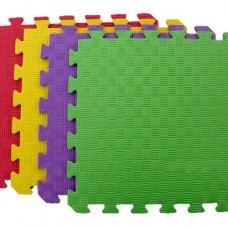 Мягкие Коврики-пазлы Игроленд - покрытие для игр и тренировок в спортзалах, на игровых площадках ЭВА 50х50х1.2см