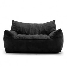 Бескаркасный диван Летучая мышь со съемным чехлом из ткани Оксфорд, наполнитель пенополистирол 152х100х80 см